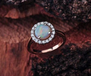 etsy, opal ring, and opal image