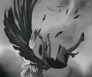angel, fallen angel, and hush hush image