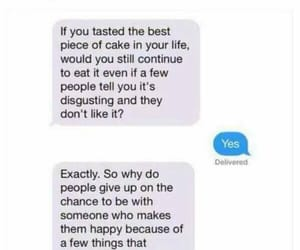 quotes, people, and cake image