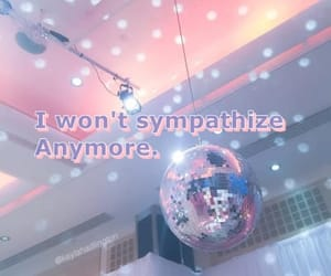 discoball, pastels, and Lyrics image