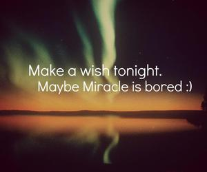 wish, miracle, and tonight image