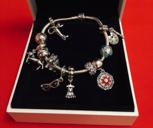 accessories, bracelet, and charms image