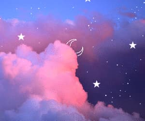 gif, sky, and clouds image