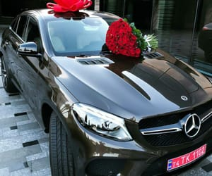flowers, beautiful, and mercedes image