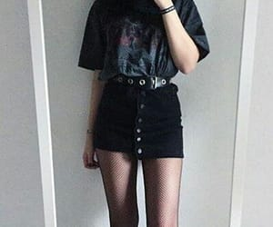 aesthetic, black, and Darkness image