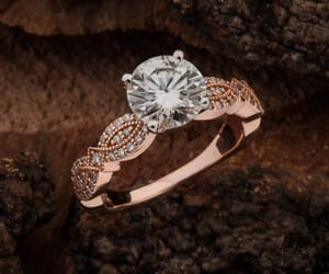 etsy, engagement ring, and moissanite image