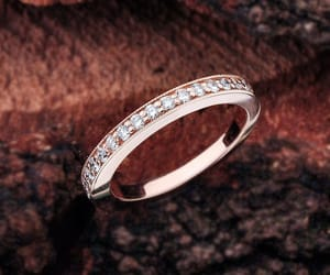 diamond ring, etsy, and wedding rings image