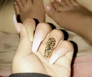 article, nails, and skin image