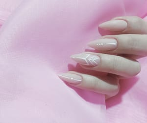 manicure, nail, and nails image