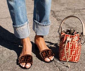 denim, streetstyle, and mini bag image