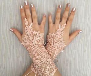 etsy, gants, and long gloves image