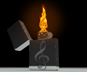 cinema4d, magic, and feuer image