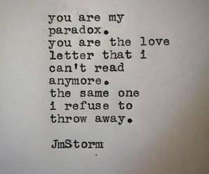 Paradox, quotes, and love image