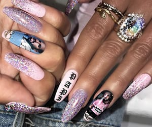 aesthetic, claws, and cyber image