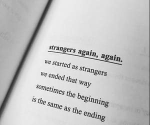 quotes, strangers, and words image