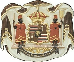coat of arms, Island, and natives image