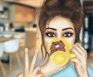 cartoonish and girly image