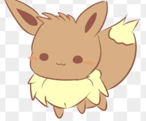 eevee, kawaii, and pokemon image