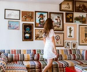fashion, fashion blogger, and heart dress image