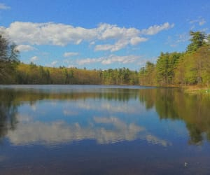 lakes, landscapes, and newhampshire image