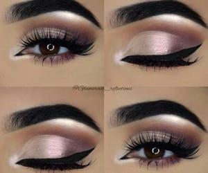 beauty, eyebrow, and girl image