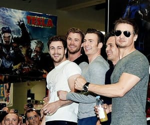 Avengers, chris evans, and thor image