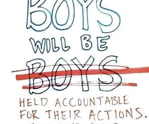 feminism, quotes, and boys image