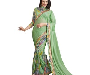 saree, onlineshopping, and saris image