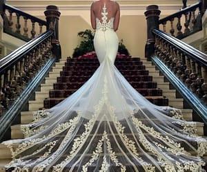 wedding, beautiful, and girl image