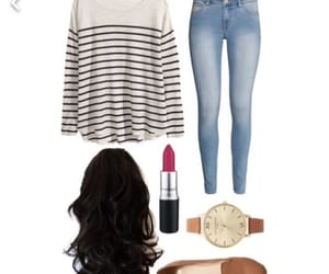 outfit, Polyvore, and style image
