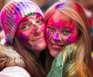 colour powder, color run, and holi gulal powder image