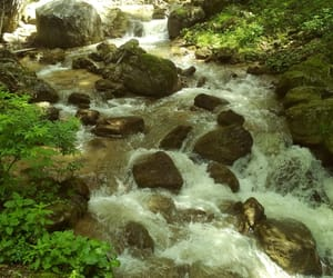 nature, stones, and water image