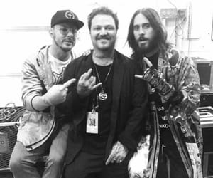 30 seconds to mars, bam margera, and monolith tour image