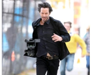 handsome, hollywood, and keanu reeves image