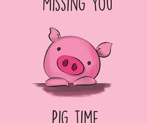 pink and pig image