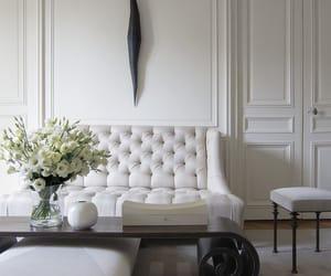 classy, interior, and sofa image