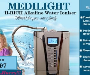 drinking water, alkaline water, and water ionizer image