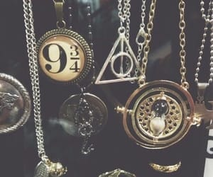 harry potter, necklace, and hunger games image