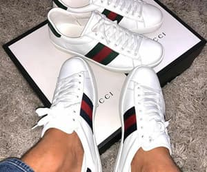 gucci, red, and sneakers image