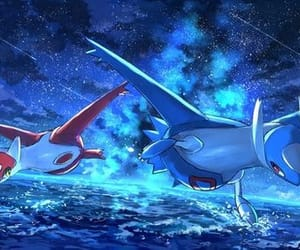 pokemon, latias, and latios image