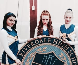 riverdale, veronica lodge, and cheryl blossom image