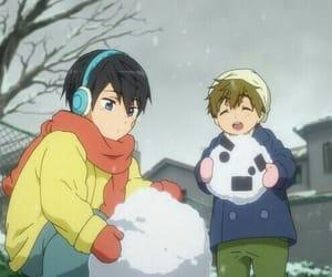 anime, kawaii, and makoto image