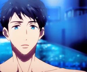 anime, free!, and yamazaki sousuke image