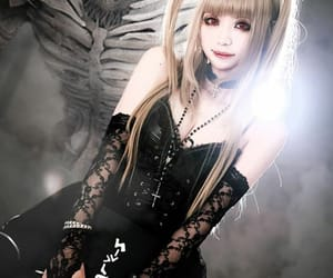 cosplay, misa amane, and death note image