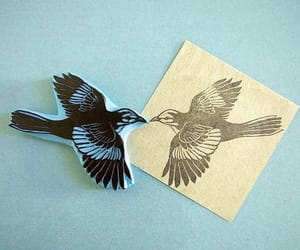 bird, craft, and drawing image