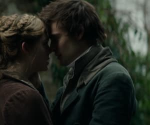 Elle Fanning, douglas booth, and mary shelley image