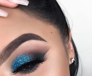 colors, eyes, and eyeshadow image