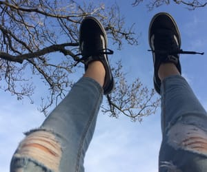 aesthetic, sky, and vans image