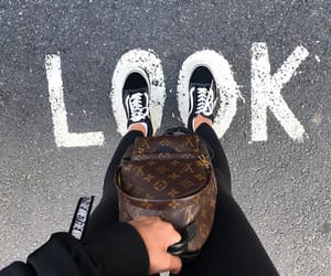 LV, vans, and style image