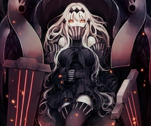 kantai collection, anime girl, and abyssal fleet image